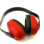 Noise cancelling ear muffs